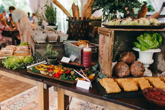buffet catering bali
